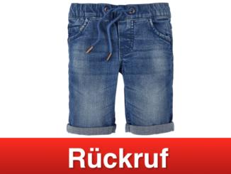 2019-06-14 Aldi Nord Rueckruf POCOPIANO Kleinkinder Jeansbermudas Jungen