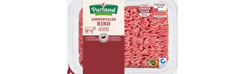 Kaufland ruft K-Purland Rinder-Hackfleisch zurück
