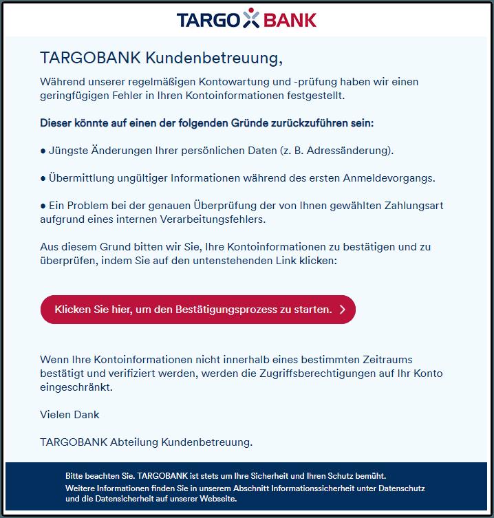 2019-07-10 Phishing Targobank