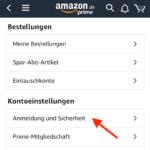 Amazon Mail ändern iPhone
