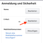Amazon Mail ändern iPhone