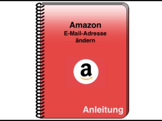 Amazon Mail ändern