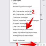 Facebook Anleitung zuletzt online deaktivieren 2