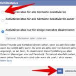 Facebook Anleitung zuletzt online deaktivieren 3