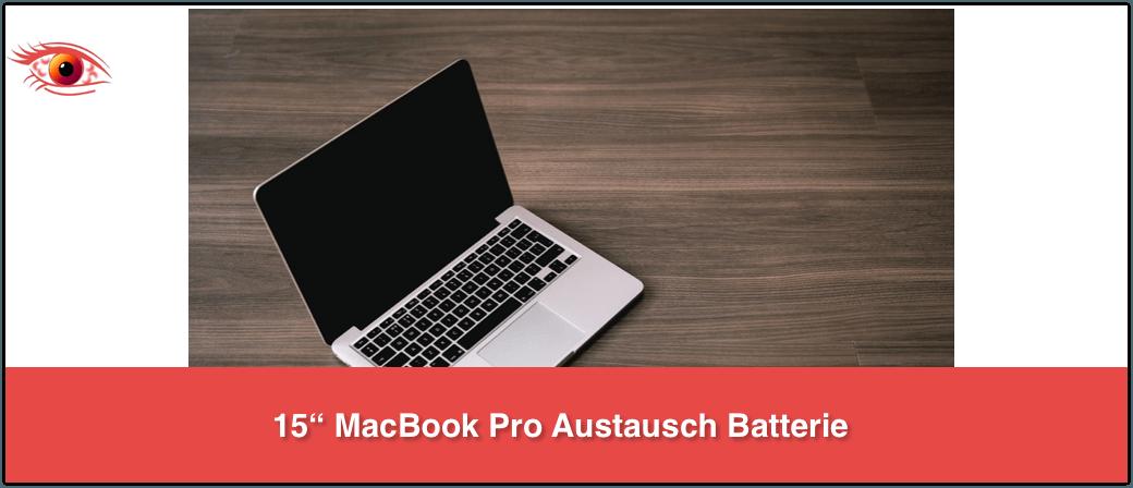 Rückruf MacBook Pro Austausch Batterie