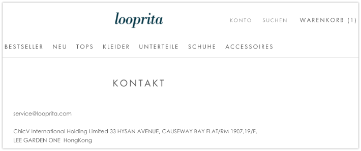 2019-07-01 looprita-com Kontakt-Seite Identität