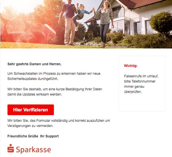 2019-07-16 Phishing Sparkasse