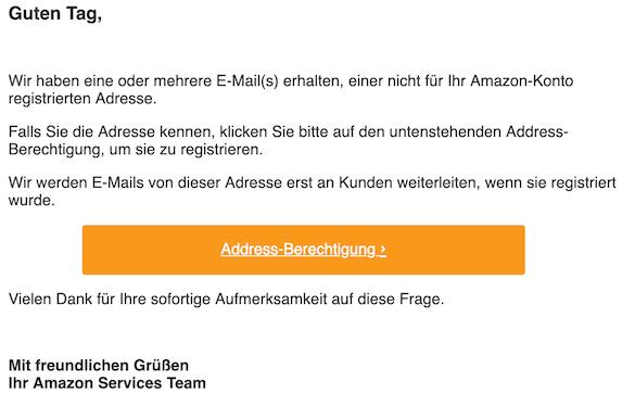 2019-07-18 Phishing Amazon Du hast 1 neue Nachricht
