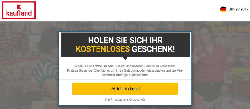 2019-07-20 Fake-Webseite Kaufland