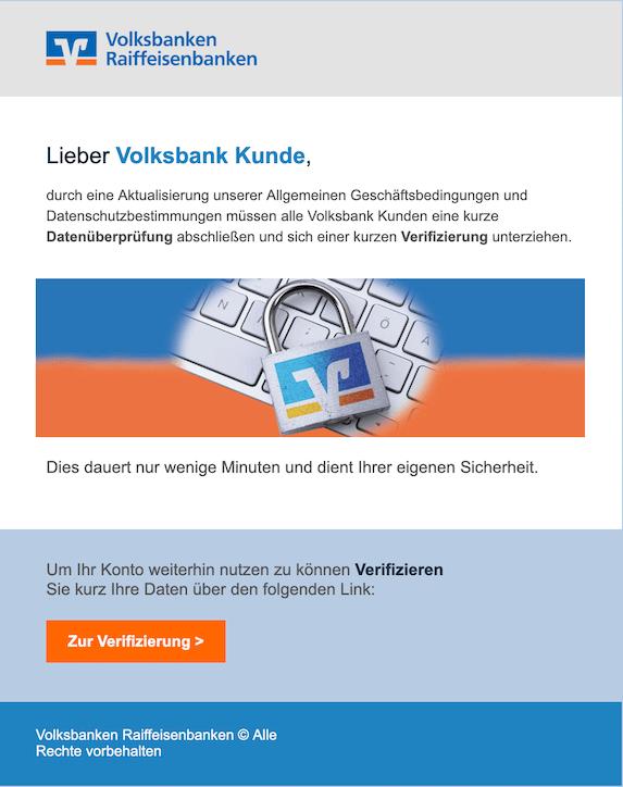 2019-07-27 Phishing Volksbank