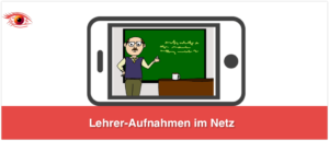 Lehreraufnahmen im Netz
