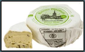Rückruf Käse Petite Fleur Kräuter