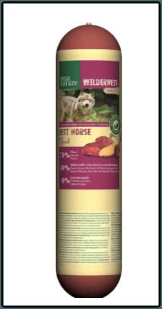 Rückruf Wurst REAL NATURE Wilderness Adult Best Horse
