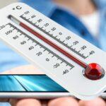 Smartphone Handy Warm Hitze Sonne Symbolbild