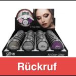 TEDi All over Glitter Make up Rückruf_titel