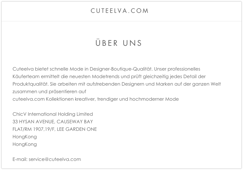cuteelva Onlineshop