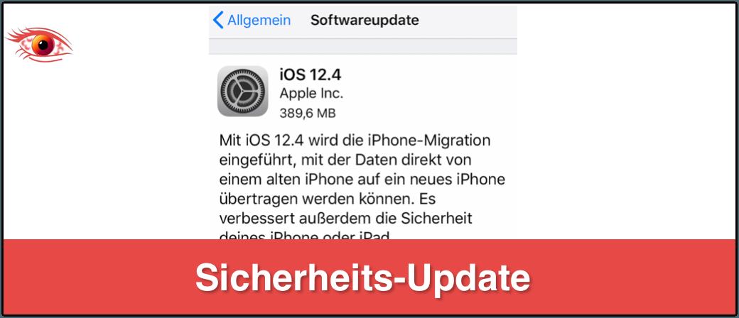 iOS Sicherheitsaupdate