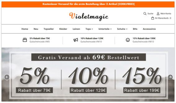 violetmagic Onlineshop
