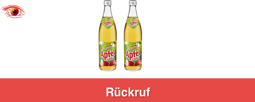Netto: Rückruf der Apfelschorle Fruchtinsel – ungewollte Flaschengärung möglich