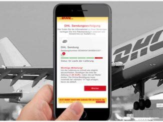 2019-08-19 DHL Spam-Mail Kostenfalle