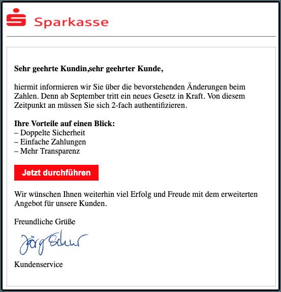 2019-08-22 Phishing Sparkasse