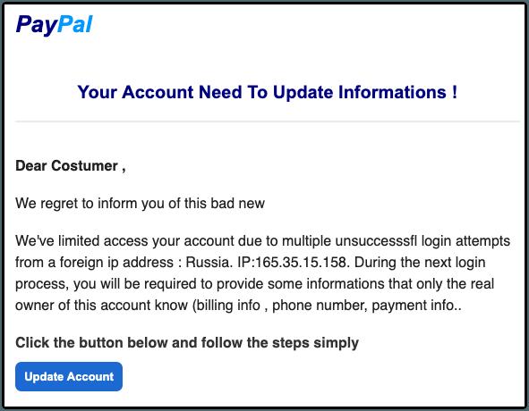 2019-08-28 Phishing PayPal