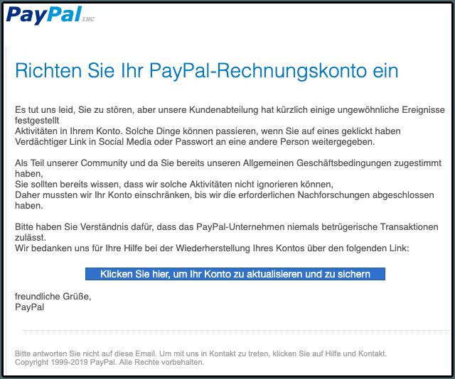 2019-08-28 Phishing PayPal1