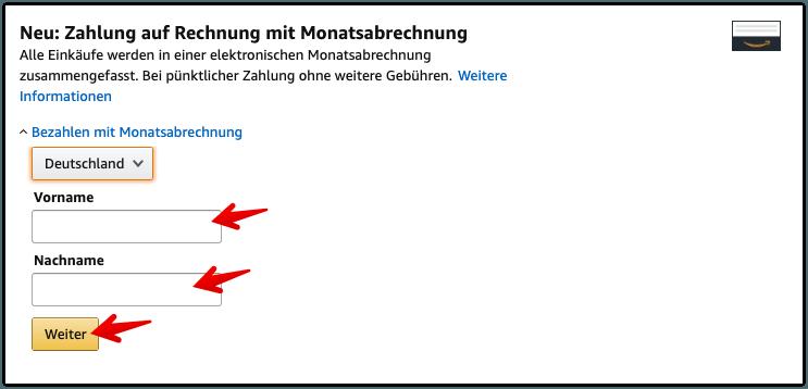 Amazon Monatsrechnung Einsehen Amazon Anleitung Zahlung
