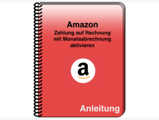 Amazon Monatsabrechnung