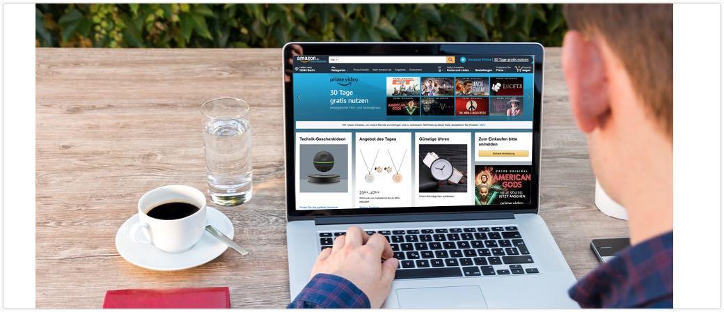 Amazon Shopping Symbolbild