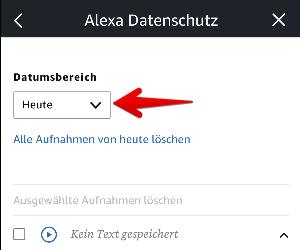 Amazon Alexa Verlauf Löschen