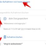 Anleitung Amazon Alexa Aufnahmen anhoeren 7
