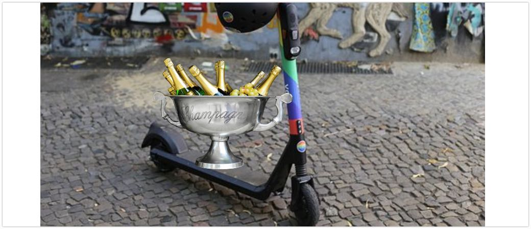 E-Sooter Roller Promille Alkohol