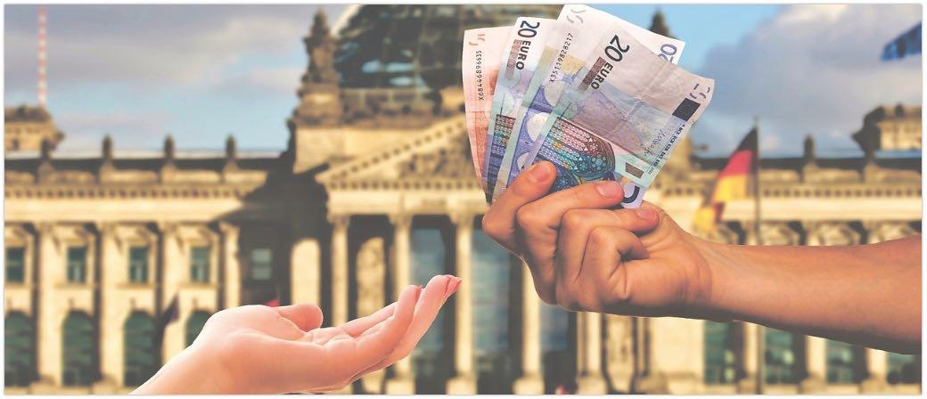 Symbolbild Geld Euro Wechsel