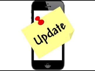 Symbolbild Update iPhone, iPad