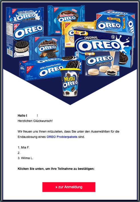 2019-09-05 Oreo Probierpaket E-Mail