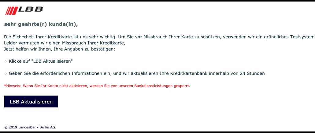 2019-09-11 Phishing LBB