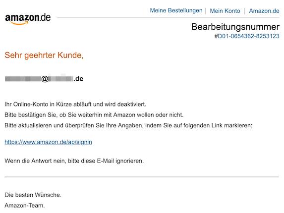 2019-09-14 Phishing Amazon
