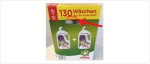 2019-09-20 Ariel Waschmittel Lidl Rückruf