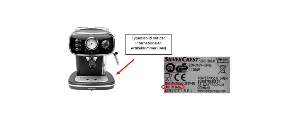 2019-09-27 Espressomaschine Artikelbild