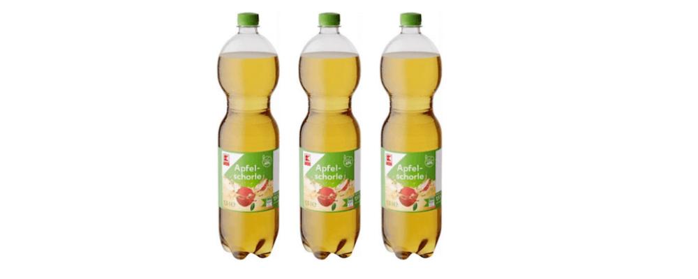 Kaufland: K Classic Apfelschorle mit Hefen verunreinigt – Rückruf