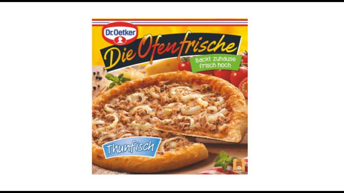 Rückruf Dr Oetker Tiefkühlpizza Die Ofenfrische Thunfisch