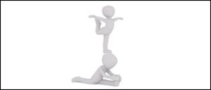 Symbolbild Supertalent Sport Akrobatik
