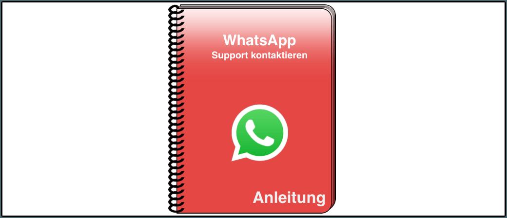 WhatsApp Support kontaktieren Anleitung