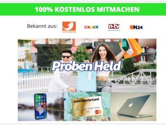 myprodukttester.com Nachfolger probenheld.de