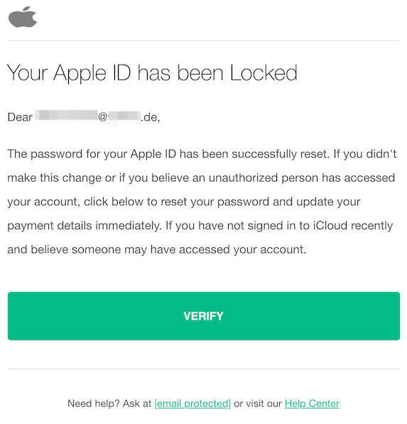 2019-10-06 Phishing Apple