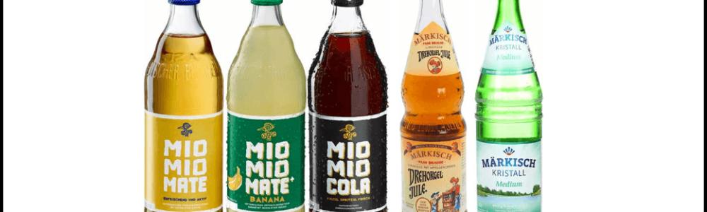 Großer Rückruf zahlreicher Getränkeflaschen verschiedener Marken des Herstellers Vivaris
