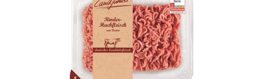 Lidl: Rückruf von Landjunker Rinderhackfleisch wegen Fremdkörpern