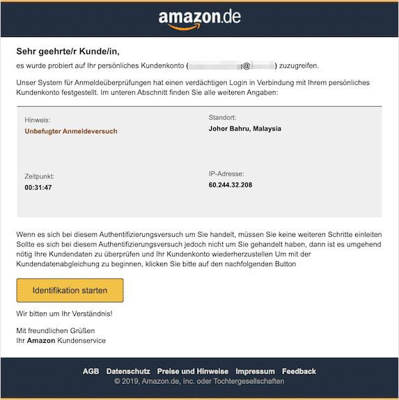 2019-10-28 Phishing Amazon