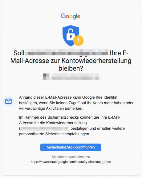 2020-08-15 Google E-Mail Helfen Sie uns die Sicherheit Ihres Google-Kontos zu erhoehen
